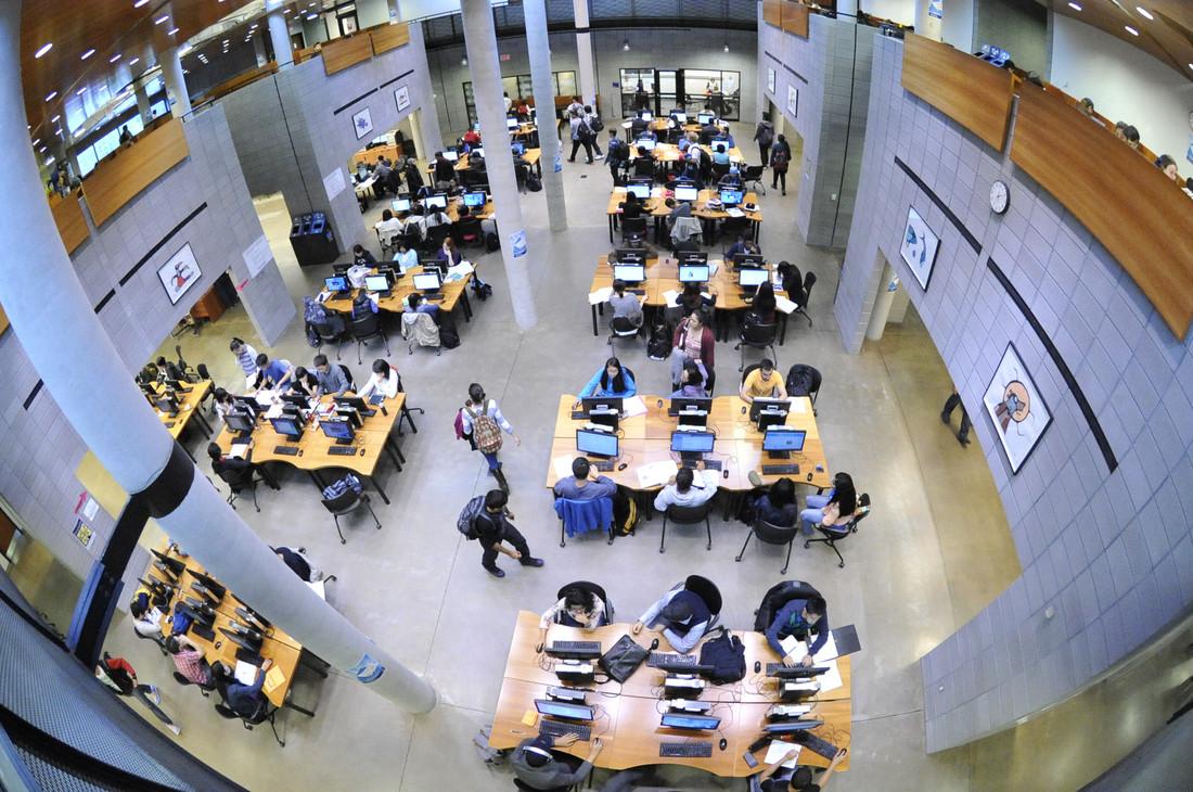 UTSC library open house.