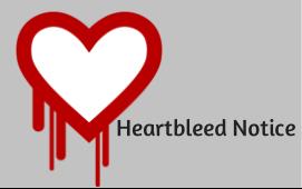 Heartbleed Notice