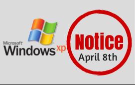 WindowsXP Notice