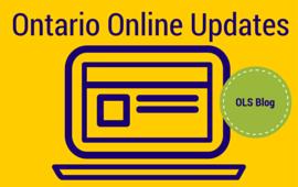 Ontario Online Updates