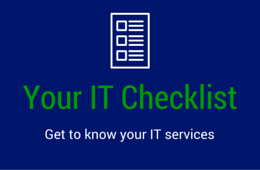 Your IT Checklist