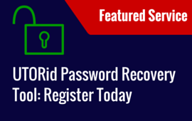 DYK- UTORid Password Recovery