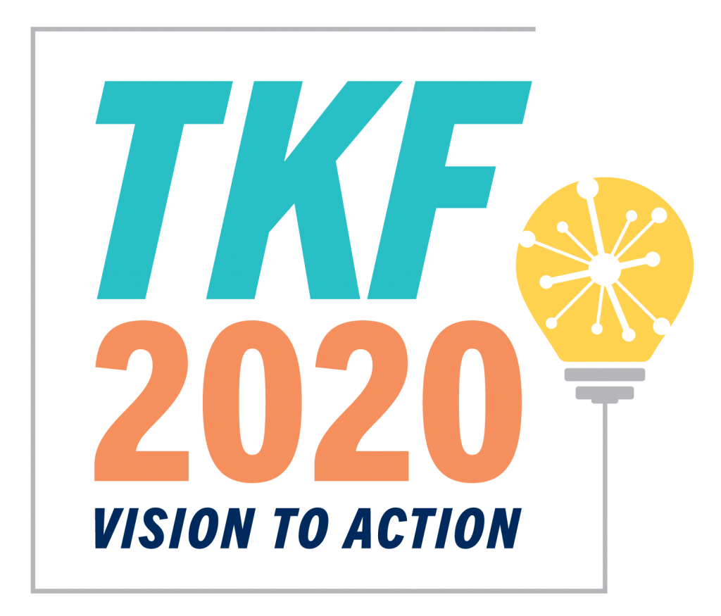 Logo for TKF 2020 Vision to Action