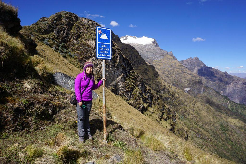 Jacqueline Tong in Peru