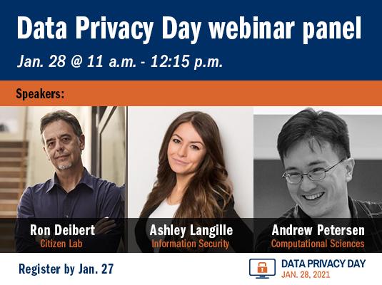 Data Privacy Day webinar panel