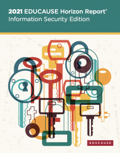 Cover of EDUCAUSE Horizon Report 2021