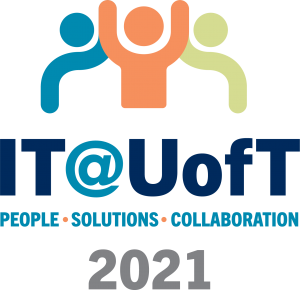IT at U of T conference logo