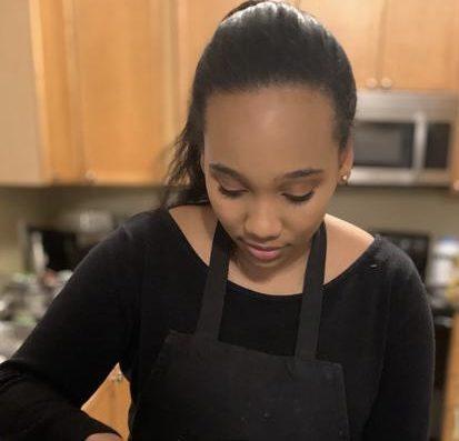 Brittani Holder baking