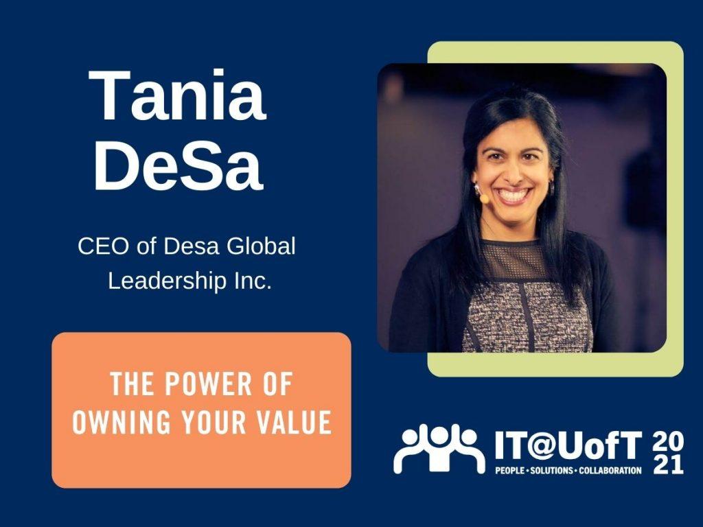 Tania DeSa website banner