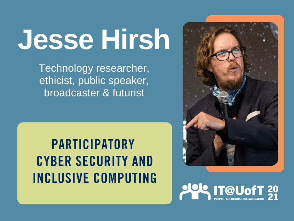 Jesse Hirsh website banner
