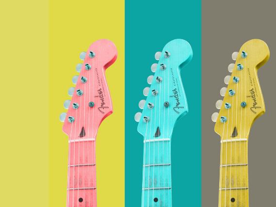 guitars graphic